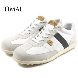 10%OFF ティマイ TIMAI GENOH 2 ゲンオウ 2 ホワイト/ネイビー TIHUD067-02|sneaker-soko