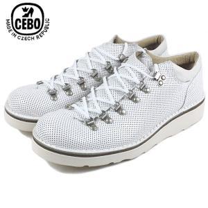 20%OFF セボ CEBO 211143-S ホワイト|sneaker-soko