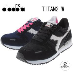30%OFF DIADORA ディアドラ TITAN 2 W チタン 2 ウィメンズ ブラック(80013) ブルーコスモス(C4380) 160825|sneaker-soko