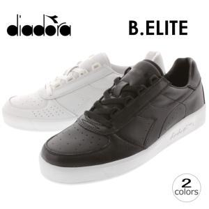 30%OFF DIADORA ディアドラ B.ELITE ボルグ・エリート ブラック(C0641) ホワイトオプティカル(C4701) 170595|sneaker-soko