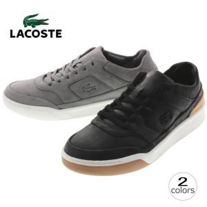 10%OFF ラコステ LACOSTE エクスプロラトゥール 316 2 EXPLORATEUR 316 2 ブラックレザー ダークグレーレザー MCK095|sneaker-soko