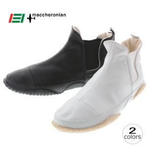 10%OFF マカロニアン maccheronian 5001L ホワイト ブラック|sneaker-soko