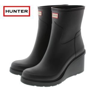 10%OFF ハンター HUNTER ウィメンズ オリジナル リファインド ミッド ウェッジ W ORG REFINED MID WEDGE ブラック WFP1010RMA-BLK sneaker-soko