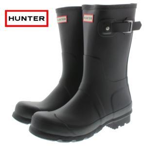 10%OFF ハンター HUNTER メンズ オリジナル ショート MENS ORIGINAL SHORT ブラック MFS9000RMA-BLK sneaker-soko