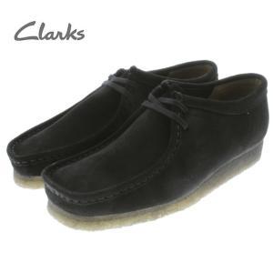 定番 クラークス Clarks ワラビー WALLABEE ブラックスエード(ブラックソール) 336E-BS-BLKSOLE|sneaker-soko