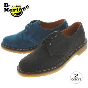 10%OFF ドクターマーチン Dr.Martens 1461 3アイレット シューズ 1461 3 EYELET SHOE ブラック(21471001) レイクブルー(21471456) sneaker-soko