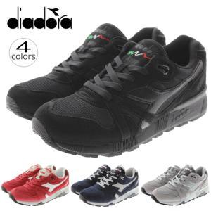 ディアドラ DIADORA ニュートラ9000 3 N9000 3 ブラック バイオレットレッドBUD クラシックネイビー/ハイライズ パロマグレー/グレーアラスカ 171853|sneaker-soko