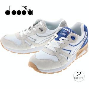 ディアドラ DIADORA ニュートラ9000 3 N9000 3 ホワイト/プリンセスブルー(C0816) ホワイト/ハイライズ(C4157) 171853|sneaker-soko