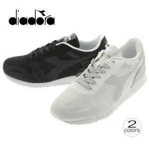ディアドラ DIADORA チタン ウィーブ TITAN WEAVE グレーロック(75041) ブラック(80013) 171829|sneaker-soko