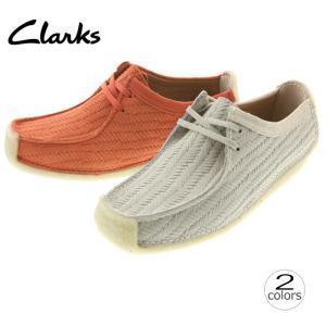 クラークス Clarks ナタリー NATALIE チョークスエード(IVSS) ライトコーラル(CRSS) 035G|sneaker-soko