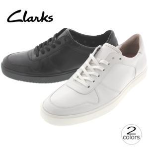 クラークス Clarks カルデロン スピード Calderon Speed ホワイトレザー(WHIT) ブラックレザー(B) 707E|sneaker-soko