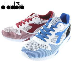 ディアドラ DIADORA ベローチェ7000 ウィーブ V7000 WEAVE ホワイト/プリンセスブルー(C6664) ホワイト/チベタンレッド(C6665) 170476|sneaker-soko