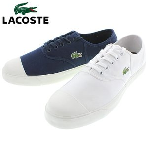 ラコステ LACOSTE ルネ 117 1 RENE 117 1 CAM1041 ホワイト(001) ネイビー(003)|sneaker-soko