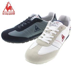 ルコック スポルティフ le coq sportif ドランシー M DRANCY M ホワイト/ネイビー/レッド ネイビー/ダークネイビー QMT-6111 WN ND|sneaker-soko