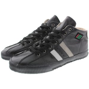 マカロニアン maccheronian 2188L ブラック/ホワイト/グレー(ブラックソール)|sneaker-soko