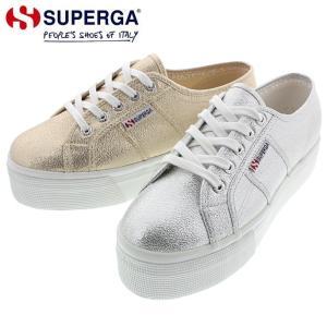 スペルガ SUPERGA 2790 ラメ ウィメン 2790 LAMEW グレーシルバー(031) オレンジゴールド(174) S009TC0|sneaker-soko