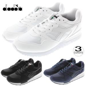 ディアドラ DIADORA イントレピッド ナイロン INTREPID NYL 171986 ホワイト/ホワイト(C0657) ブラック(80013) サルタイアーネイビー(60024)|sneaker-soko