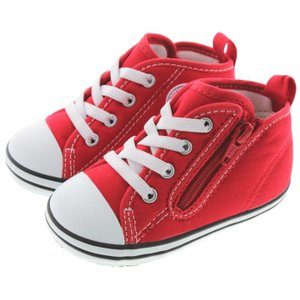 10%OFF 定番 子供 コンバース CONVERSE ベビー オールスター N Z BABY ALL STAR N Z レッド 7CK556|sneaker-soko