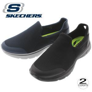 20%OFF スケッチャーズ スニーカー SKECHERS ゴーウォーク 4 インクレディブル GO WALK 4 INCREDIBLE 54152 ブラック(BBK)ネイビー/グレー(NVGY)|sneaker-soko