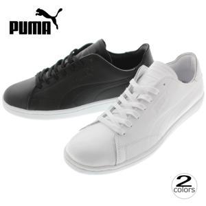 プーマ PUMA スニーカー マッチ クリーン Match Clean 362436 プーマホワイト(01) プーマブラック(02)|sneaker-soko