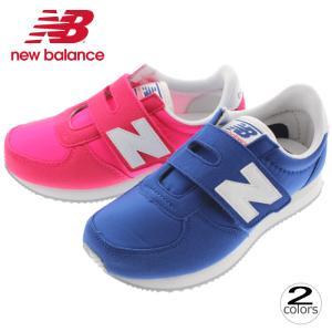子供 ニューバランス New balance スニーカー KV220 ピンク/ホワイト(PWY)ブルー/ホワイト(BLY)|sneaker-soko