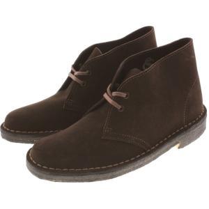 クラークス Clarks ブーツ デザートブーツ Desert Boot ブラウンスエード 653F-BRS|sneaker-soko