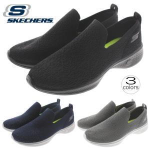 スケッチャーズ SKECHERS スニーカー ゴー ウォーク 4 ギフテッド GO WALK 4 Gifted 14918 ブラック(BBK)ネイビー/グレー(NVGY)チャコール(CHAR)|sneaker-soko