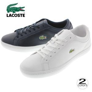 ラコステ LACOSTE スニーカー ストレートセット BL 1 STRAIGHTSET BL 1 CAM1070 ホワイト(001)ネイビー(003)|sneaker-soko