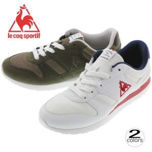 ルコック スポルティフ le coq sportif スニーカー ラ セーヌ LA SEINE QFM-7303WN ホワイト/ネイビー/レッド(WNR)QFM-7303KH カーキ(KHK)|sneaker-soko