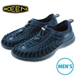 キーン KEEN サンダル スニーカー ユニーク オーツー UNEEK O2 マジョリカブルー/レギオンブルー 1017857|sneaker-soko