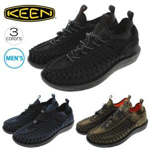 キーン KEEN スニーカー サンダル ユニーク HT ブラック(1018025)ドレスブルー/タービュランス(1018026)ダークオリーブ/ゴシックオリーブ(1018027)|sneaker-soko