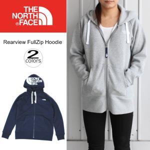 ノースフェイス THE NORTH FACE リアビュー フルジップ フーディー Rearview FullZip Hoodie NTW11755 ミックスグレー2(ZZ)コズミックブルー(CM)|sneaker-soko