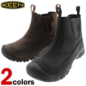 キーン KEEN ブーツ アンカレッジ ブーツ 3 ウォータープルーフ ANCHORAGE BOOT 3 WP ブラック/レイブン(1017789) ダークアース/マルチ(1017790)|sneaker-soko