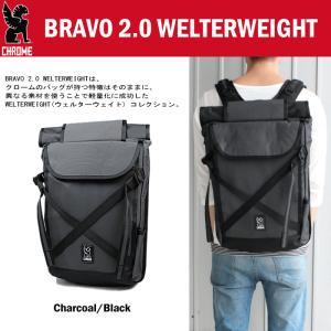 クローム CHROME バッグ ブラボー 2.0 ウェルターウェイト BRAVO 2.0 WELTERWEIGHT チャコール/ブラック BG-226-CHBK-NA-NA|sneaker-soko