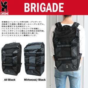 クローム CHROME バッグ ブリゲード BRIGADE BG-232 オールブラック(ALLB) マークウッド/ブラック(MKBK)|sneaker-soko