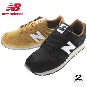 ニューバランス New balance スニーカー U520 ブラック(BH) ライトブラウン(BF) sneaker-soko