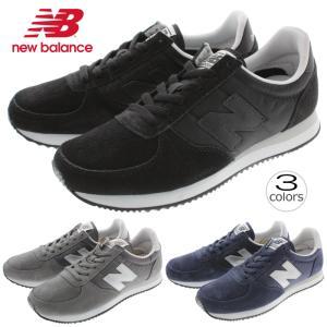 ニューバランス New balance スニーカー U220 ブラック(BS) グレー(GS) ネイビー(NS) sneaker-soko