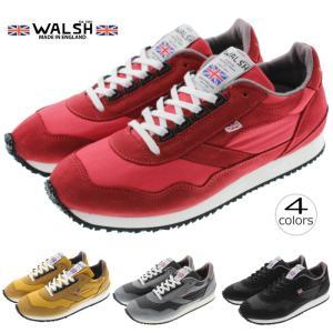 ウォルシュ WALSH スニーカー エンサイン ENSIGN MILLERAIN レッド(ENS70...