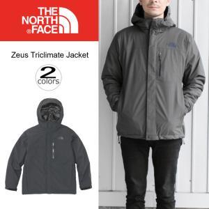 ノースフェイス THE NORTH FACE アウター ゼウス トリクライメート ジャケット ZEUS TRICLIMATE JACKET NP61733 ブラック(K) グラフィットグレー(GG)|sneaker-soko