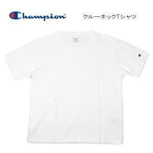 チャンピオン Champion ウィメンズ クルーネック Tシャツ ホワイト CW-J302-010|sneaker-soko