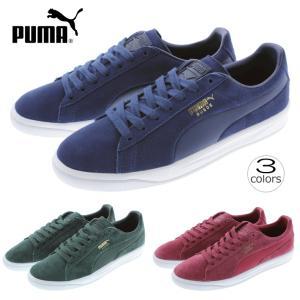 プーマ PUMA スニーカー スウェード イグナイト SUEDE IGNITE 364069 ブルーデプス/ブルーデプス(06)グリーンゲイブルズ(07)チベタンレッド(08)|sneaker-soko