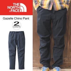ノースフェイス THE NORTH FACE ガゼル チノ パンツ GAZELLE CHINO PANT NB31610 ブラック(K) コズミックブルー(CM)|sneaker-soko