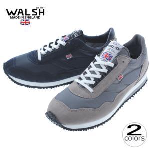 ウォルシュ WALSH スニーカー エンサイン ENSIGN グレー/グレー(ENS70071) ネ...