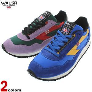 ウォルシュ WALSH スニーカー エンサイン ENSIGN ブルー/イエロー (ENS70102)...