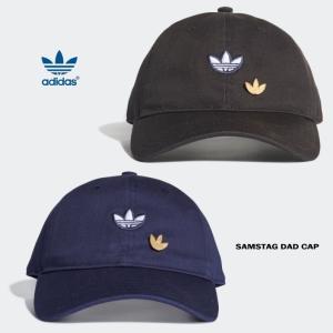 f09e92a58403c アディダス adidas 帽子 サムスタッグ ダッド キャップ SAMSTAG DAD CAP ブラック (DV1411) カレッジネイビー  (DU6800)
