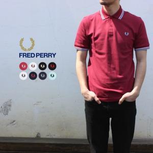 定番 フレッドペリー FRED PERRY ポロシャツ ザ オリジナル ツインティップド フレッドペ...