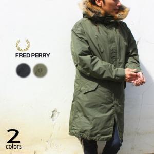 フレッドペリー FRED PERRY フィッシュテール パーカー FISHTAIL PARKA F2...
