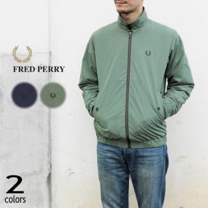 フレッドペリー FRED PERRY ウェア シャツ ハリントン ジャケット SHIRT HARRI...