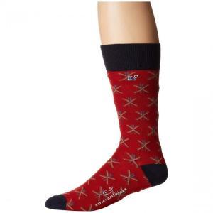 Vineyard Vines Crossed Skis Icon アイコン Socks ソックス・靴...