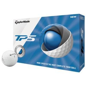 TaylorMade 2019 TP5 Golf ゴルフ Balls -  Mens メンズ Whi...